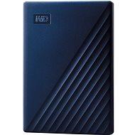 WD My Passport Mac-hez 4TB, kék - Külső merevlemez