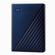 WD My Passport Mac-hez 5TB, kék - Külső merevlemez