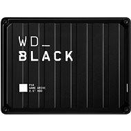 WD BLACK P10 Game Drive 4TB, fekete - Külső merevlemez