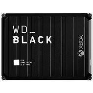 WD BLACK P10 Game Drive 5TB Xbox One-hoz, fekete - Külső merevlemez