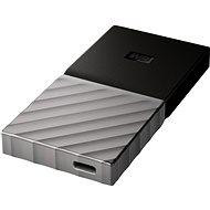 WD My Passport SSD 256GB ezüst-fekete - Külső meghajtó