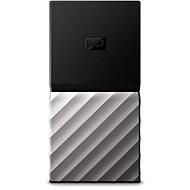 WD My Passport SSD 2TB Silver/Black - Külső merevlemez