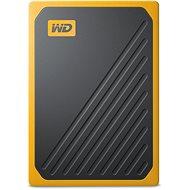 WD My Passport GO SSD 1TB, sárga - Külső meghajtó