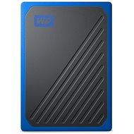 WD My Passport GO SSD 2TB kék - Külső merevlemez