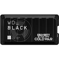 Külső merevlemez WD BLACK P50 SSD játékmeghajtó 1 TB Call of Duty: Black Ops Cold War Special Edition