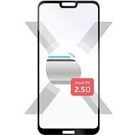 FIXED Full-Cover Huawei P20 Lite készülékhez fekete - Képernyővédő