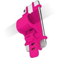 CELLY EASY BIKE telefontartó kormányra rózsaszín - Mobiltelefon tok