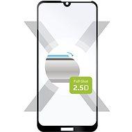 FIXED Full-Cover Honor 8A/Huawei Y6 (2019) Full Glue  készülékhez, fekete - Képernyővédő
