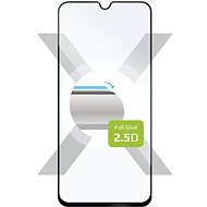 FIXED Full-Cover Samsung Galaxy A40 készülékhez, ragasztás a teljes kijelző mentén, fekete - Képernyővédő