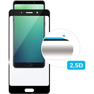FIXED Full-Cover Xiaomi Redmi Note 7/7 Pro készülékhez, fekete - Képernyővédő