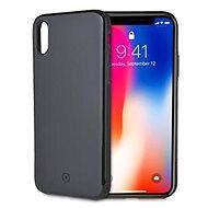 CELLY GHOSTSKIN Apple iPhone X/XS készülékhez, fekete - Mobiltartó