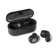 CELLY TWINS fekete - Mikrofonos fej-/fülhallgató