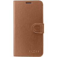 FIXED FIT Shine Samsung Galaxy J6+ készülékhez bronzszínű - Mobiltelefon tok