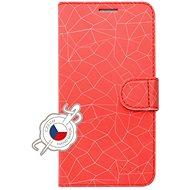 FIXED FIT tok Xiaomi Redmi Note 7/7 Pro készülékhez, Red Mesh motívum