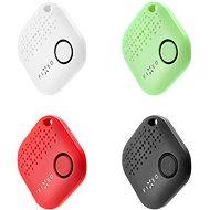 FIXED Smile 4-PACK (fekete, fehér, piros, zöld) - Bluetooth kulcskereső