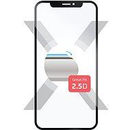 FIXED Full-Cover Samsung Galaxy A7 (2018) készülékhez, fekete - Képernyővédő