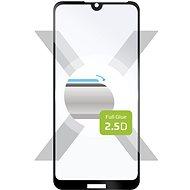 FIXED FullGlue-Cover Huawei Y5 (2019) készülékhez, fekete - Képernyővédő