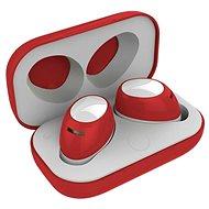 CELLY Twins Air, piros - Mikrofonos fej-/fülhallgató