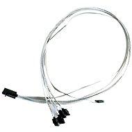 Microsemi ADAPTEC I-HDmSAS-4SATA-SB 0.8m - Adatkábel