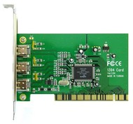 TEKRAM TR-1394W (čip VIA) - 3x FireWire, PCI, retail s kabely
