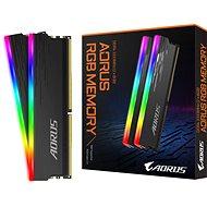 GIGABYTE AORUS 16GB KIT DDR4 3333MHz CL18 RGB - Rendszermemória