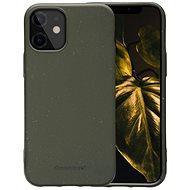 dbramante1928 Grenen tok iPhone 12 mini Dark  készülékhez Olive Green - Mobiltelefon hátlap