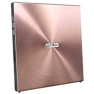 ASUS SDRW-08U5S-U rózsaszín + szoftver - Külső DVD-író
