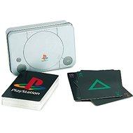 PlayStation - játékkártyák PS szimbólumokkal - Kártya
