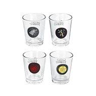 Game of Thrones - 4 db címeres pohár - Pohár hideg italokhoz