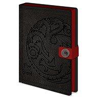 Jegyzetfüzet Trónok Harca - Targaryen - Jegyzetfüzet
