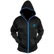 Dell Alienware Zip-Glow Hoodie Black - Kapucnis pulóver