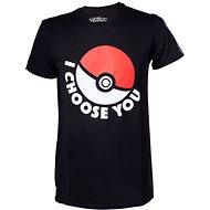 """Pokémon """"I choose you"""" - póló - Póló"""