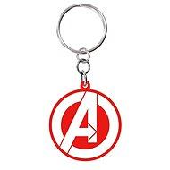 MARVEL Bosszúállók logó - kulcstartó - Zseblámpa kulcstartó