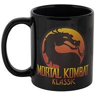 Mortal Kombat Logo Heat Mug - bögre - Bögre