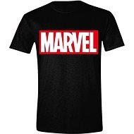 Marvel Box Logo - póló - Póló