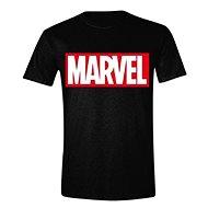 Marvel Box Logo póló - L - Póló