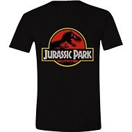 Férfi póló M  -  Jurassic park logó - Póló