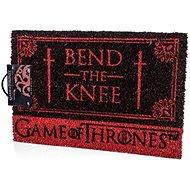 Game of Thrones Bend The Knee - Lábtörlő - lábtörlő