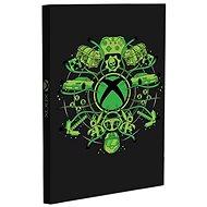 Xbox Light Up Notebook - jegyzetfüzet - Jegyzetfüzet