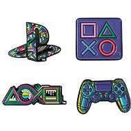 PlayStation Pin Badge Set - kitűzők - Medál