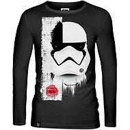 Star Wars: Trooper Mask - hosszú ujjú póló - Póló