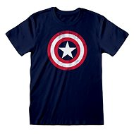 Captain America - Shield Distressed - póló - Póló
