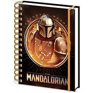 Star Wars - Mandalorian: Bounty Hunter - spirál jegyzetfüzet - Jegyzetfüzet