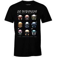 Star Wars Mandalorian - Bounty Hunters - S méretű póló - Póló