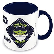 Star Wars Mandalorian - Child on Board - bögre