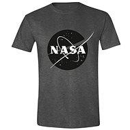 NASA - Black Logo - póló - Póló