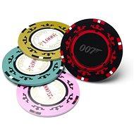 James Bond - Casino Royale Poker Chip Coasters - poháralátét