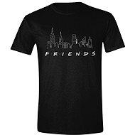 Friends - Logo and Skyline - Póló
