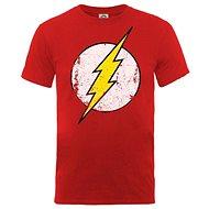 Flash - Distressed Logo - póló - Póló