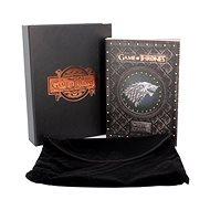 Jegyzetfüzet Trónok játék - Winter is Coming - notebook díszdobozban